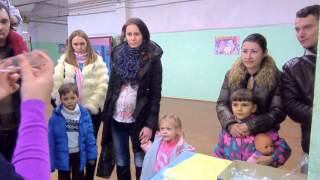 Фабрика ялинкових іграшок. Брянська область, р. Карачевою.