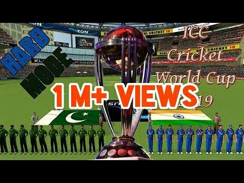 ICC World Cup 2019 - India Vs Pakistan 1st Group Match Real Cricket 2018 Prediction Cum Gameplay