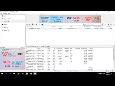 vianet torrent download speed test (5mbps)  |tested in fallback speed( 512kbps) |2017