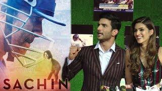 Sushant Singh Rajput & Kriti Sanon's Reaction On Sachin Tendulkar's Movie
