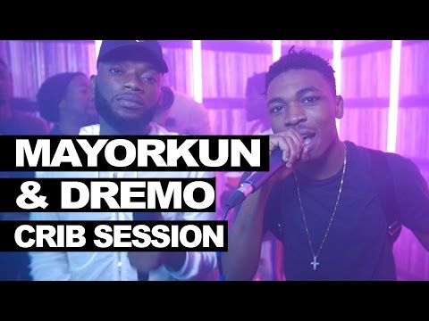 VIDEO: Mayorkun And Dremo Freestyle At TimWestwood Crib Session