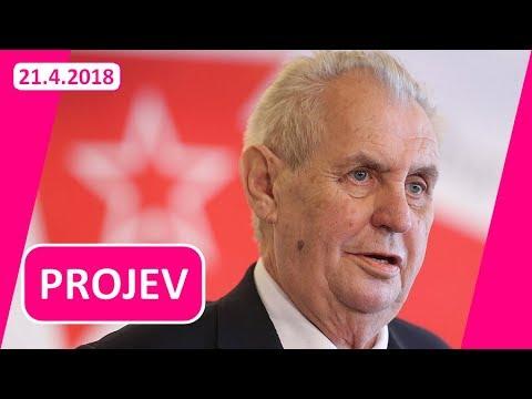 Soudruzi a soudružky! Projev prezidenta Zemana na sjezdu KSČM!