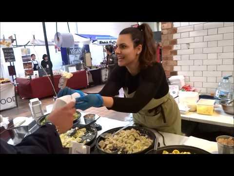 LONDON STREET FOOD, BOROUGH MARKET, CAMDEN MARKET