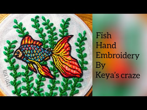 Fish Hand Embroidery Tutorial /275