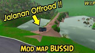 Map baru BUSSID !! Akhirnya bisa pasang Mod Map jalanan Offroad BUSSID V 3.6.1 !!