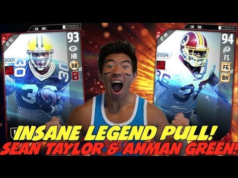 WE GET SEAN TAYLOR & AHMAN GREEN! ULTRA RARE PACK LUCK! MADDEN 17 ULTIMATE TEAM PACK OPENING
