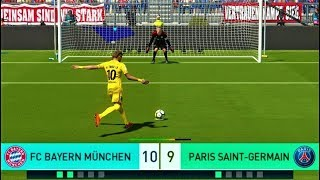 Bayern Munchen vs PSG | Penalty Shootout 2018 | PES 2018 Gameplay HD