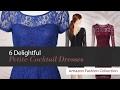 6 Delightful Petite Cocktail Dresses Amazon Fashion Collection