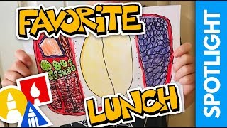 SPOTLIGHT: Draw Your Favorite School Lunch (8.30.19)