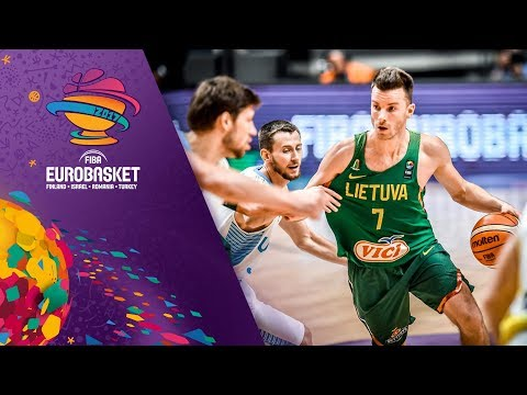 Ukraine v Lithuania - Highlights - FIBA EuroBasket 2017