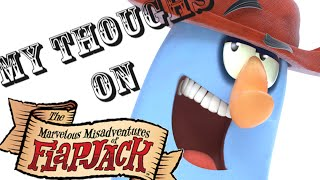 """The Marvelous Misadventures of Flapjack"" (Review)/(Speed Art)"