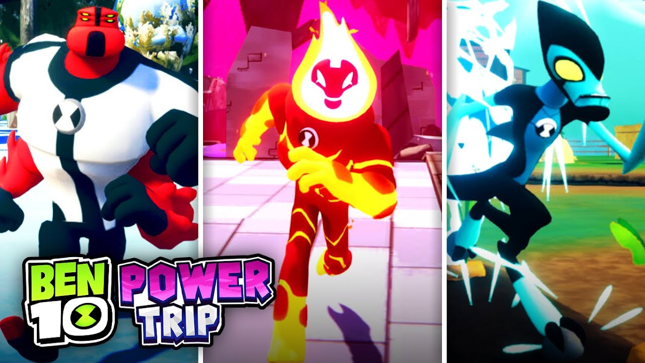 Ben 10: Power Trip - Everything We Know So Far! - YouTube