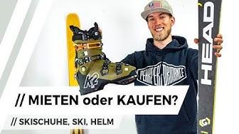 Ski Equipment KAUFEN oder LEIHEN / mieten?