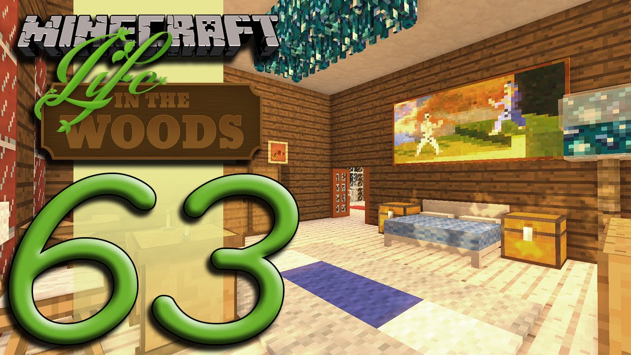 Minecraft Life In The Woods - EP63 - Fancy Lights!