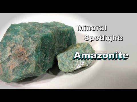 Mineral Spotlight - Amazonite