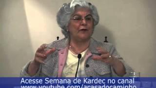 Porque conhecer a mensagem espírita, segundo a médium Isabel Salomão de Campos.