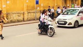 Học sinh nhờn luật giao thông, bao giờ mới nhận thức đúng? | Camera 141