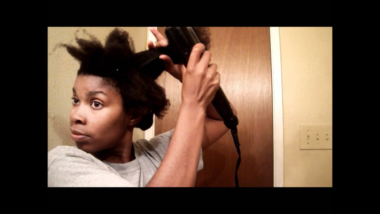 Ebony Straighty Blown