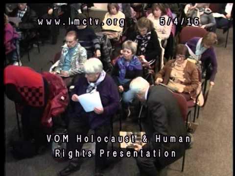 Village of Mamaroneck Holocaust and Human Rights Presentation