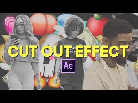Cut Out Cloning Effect (PNB Rock - Notice Me After Effects Tutorial)
