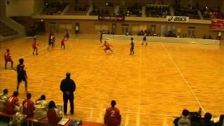 ハンドボール選抜全国大会1回戦_国府vs横浜前半