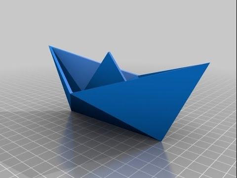 how to make a paper boat origami easy tutorial youtube