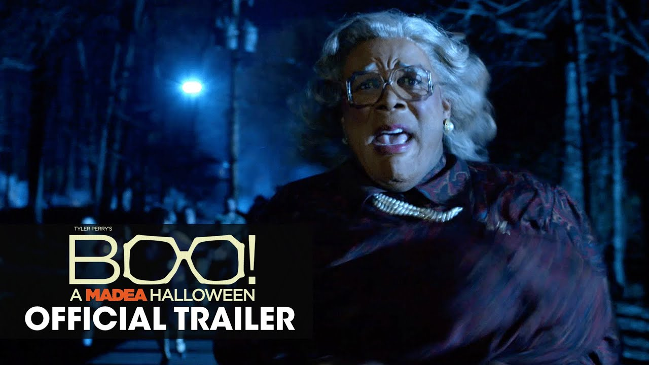 Boo! A Madea Halloween (2016 Movie U2013 Tyler Perry) Official Trailer U2013 U0027Trick  Or Treatu0027   YouTube