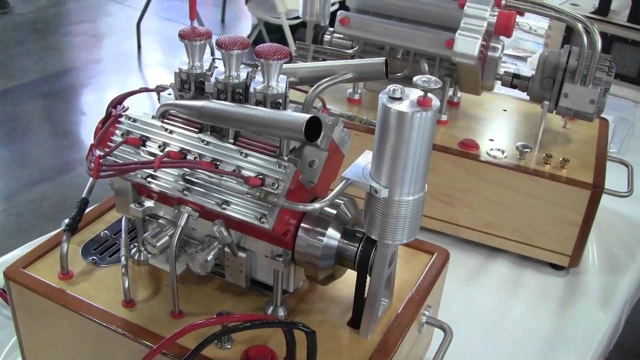 Mini V8 Motor - Year of Clean Water