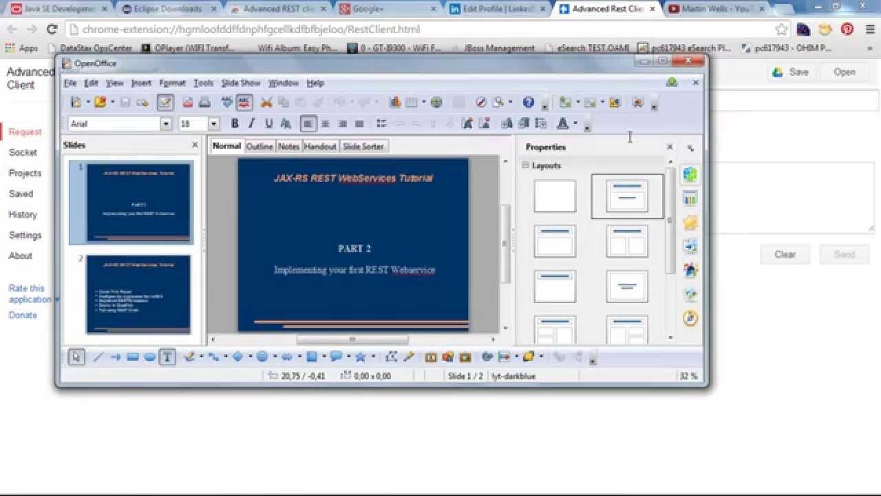 JAX-RS REST Webservices Tutorial - Part 2 My First RESTful Webservice