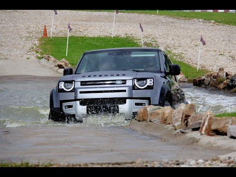 Land Rover Defender - рафинированный грубиян. Тест драйв 2020