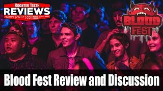 Blood Fest Review and Discussion - Rooster Teeth Reviews