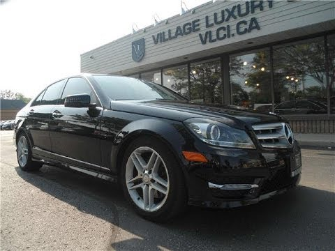 Amazing 2012 Mercedes Benz C300 In Review   Village Luxury Cars Toronto