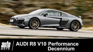 2019 Audi R8 V10 Performance Decennium ESSAI Auto-Moto.com