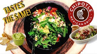 DIY Chipotle Mexican Inspired Burrito Bowl Recipe (Bri Hall)