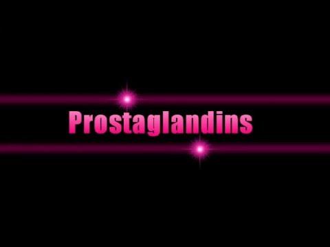 Prostaglandins [Mind Map]