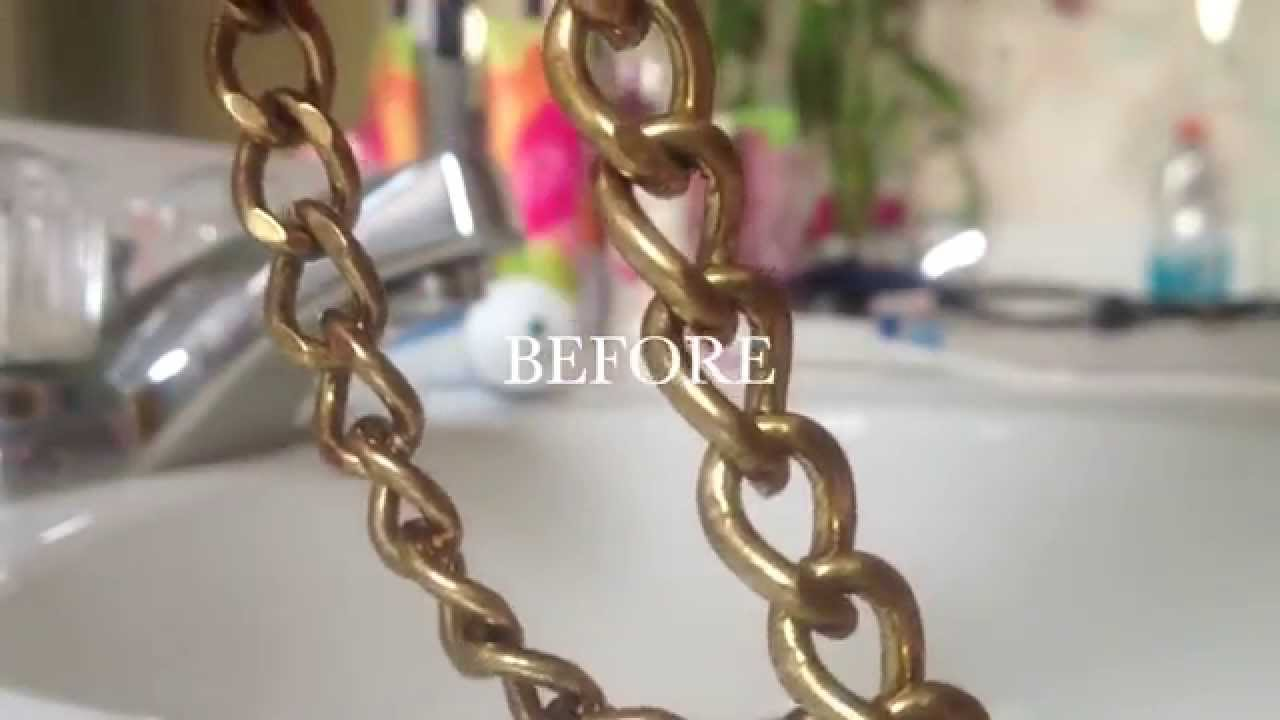HOW TO clean fashion jewelry with one household product YouTube
