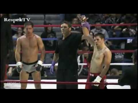Hector Lombard Wins Bazzie 2009: Bloodiest Fight of The Year