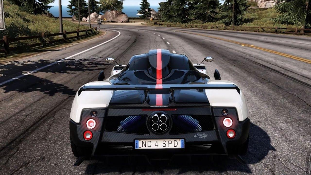 Need For Sd: Hot Pursuit - Pagani Zonda Cinque - Test Drive ...
