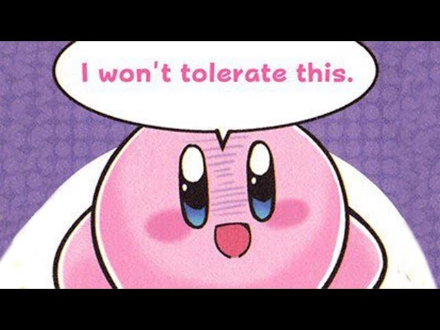 CURSED KIRBY IMAGES