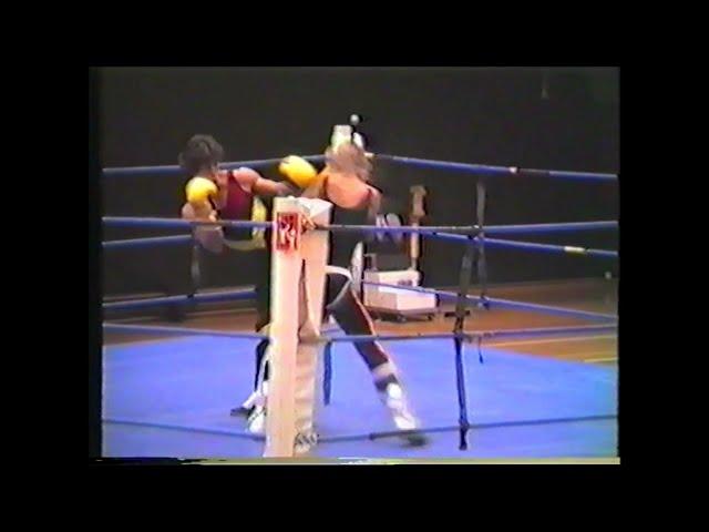 SAVATE Boxe Française on Internationel Martial Arts Fest  org Sifu Walter Toch 1986 Belgium
