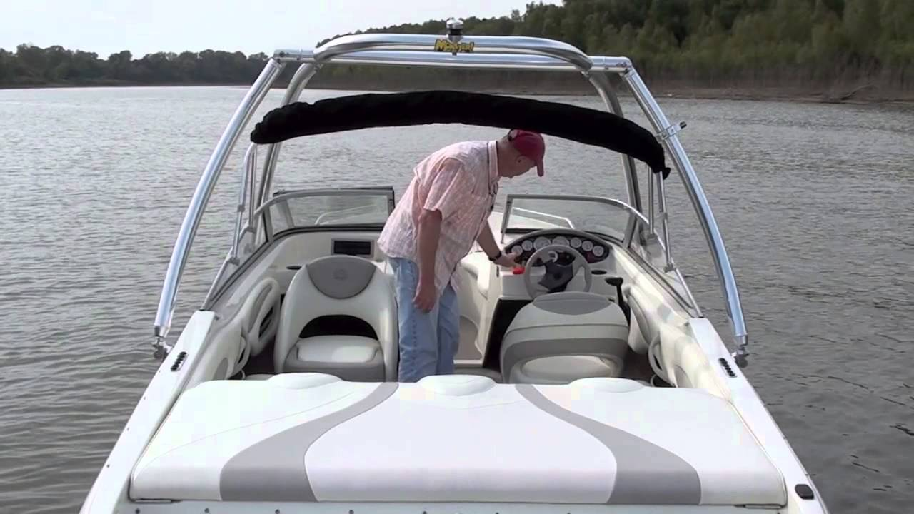 2006 Stingray 195LR w/ Volvo Penta 4.3GXI/SX - YouTube