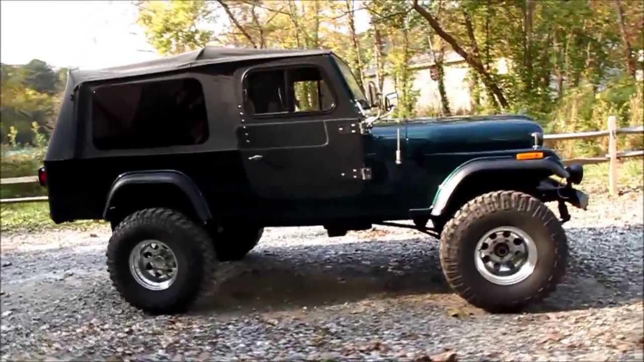 1981 Jeep Scrambler CJ8 For Sale - YouTube