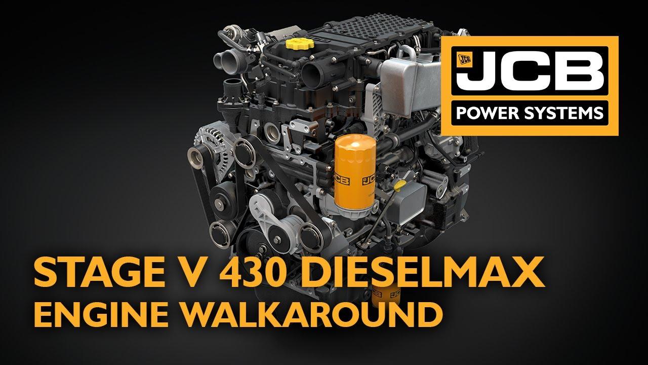 Stage V 430 Dieselmax Engine Walkaround - JCB Power Systems