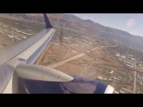 Delta 737-900ER Takeoff from Salt Lake City - Sep '16