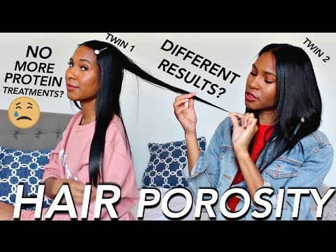 WE TRIED HAIR POROSITY TESTS ON RELAXED HAIR
