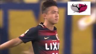 Kashima Antlers Hiroki Abe.