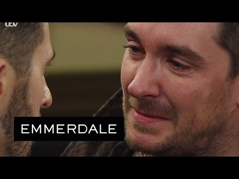 Emmerdale - Pete Tells Ross That Emma Tried To Kill Him As A Child