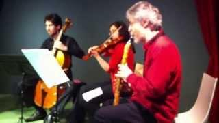 Teatre Instrumental en Musitekton Quintet KV581 IV Allegretto con variazioni 2 de junio de 2013