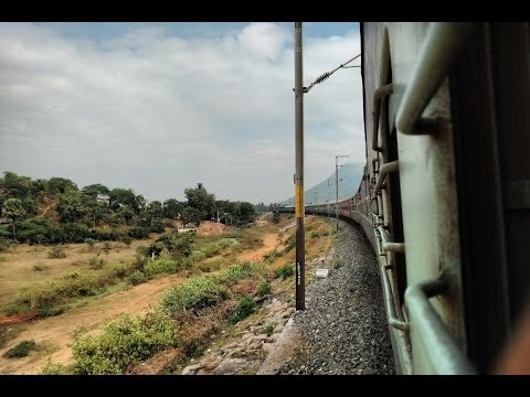 Amaravati Express Train Journey | Howrah to Vasco Da Gama | Kolkata to Goa by Indian Railway