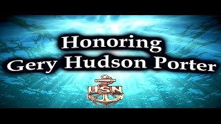 Gery Hudson Porter Honors